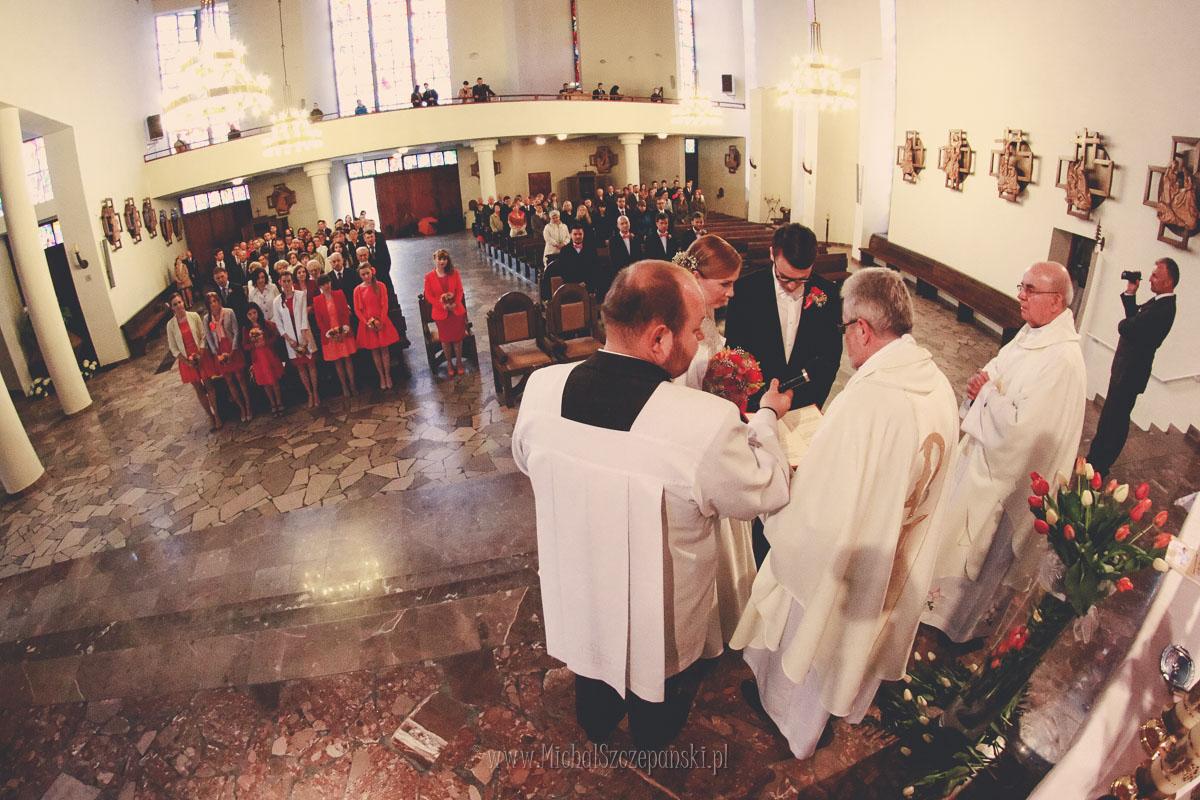 Fotograf Wieruszów - ceremonia zaślubin