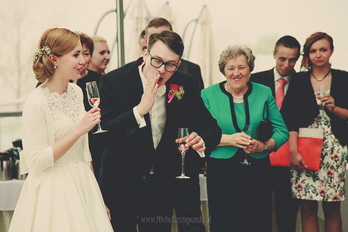 Fotograf Wieruszów - przywitanie gości weselnych