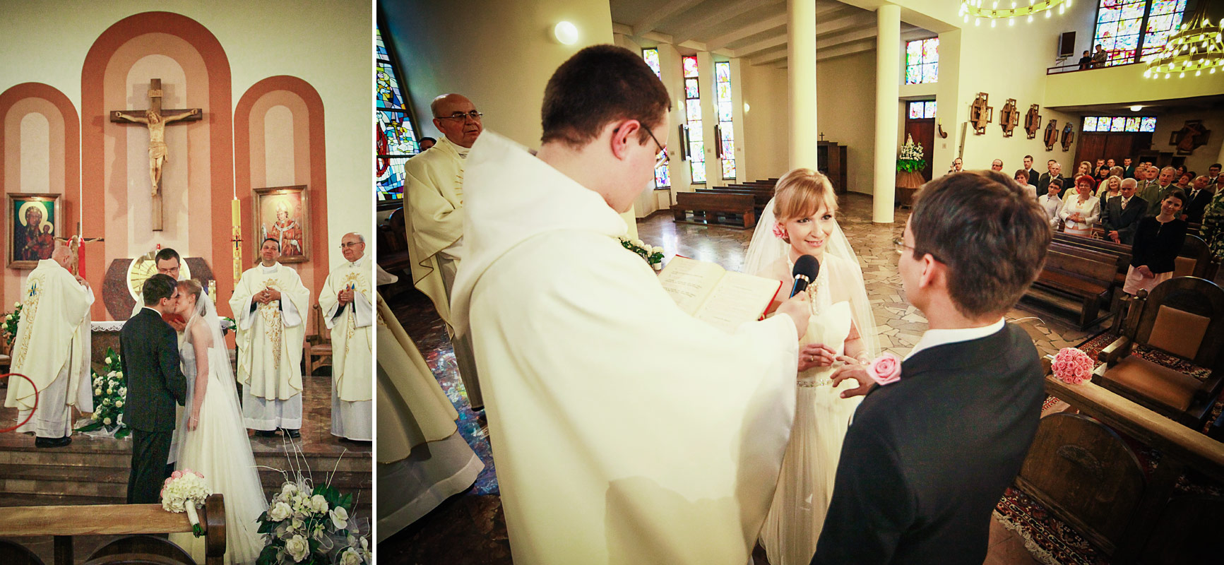 Piękny ślub w Wieruszowie przysięga małżeńska