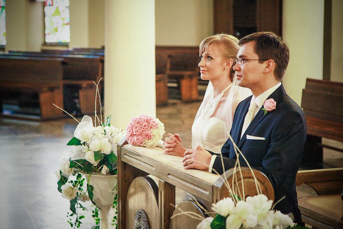 Piękny ślub w Wieruszowie ślub w kościele
