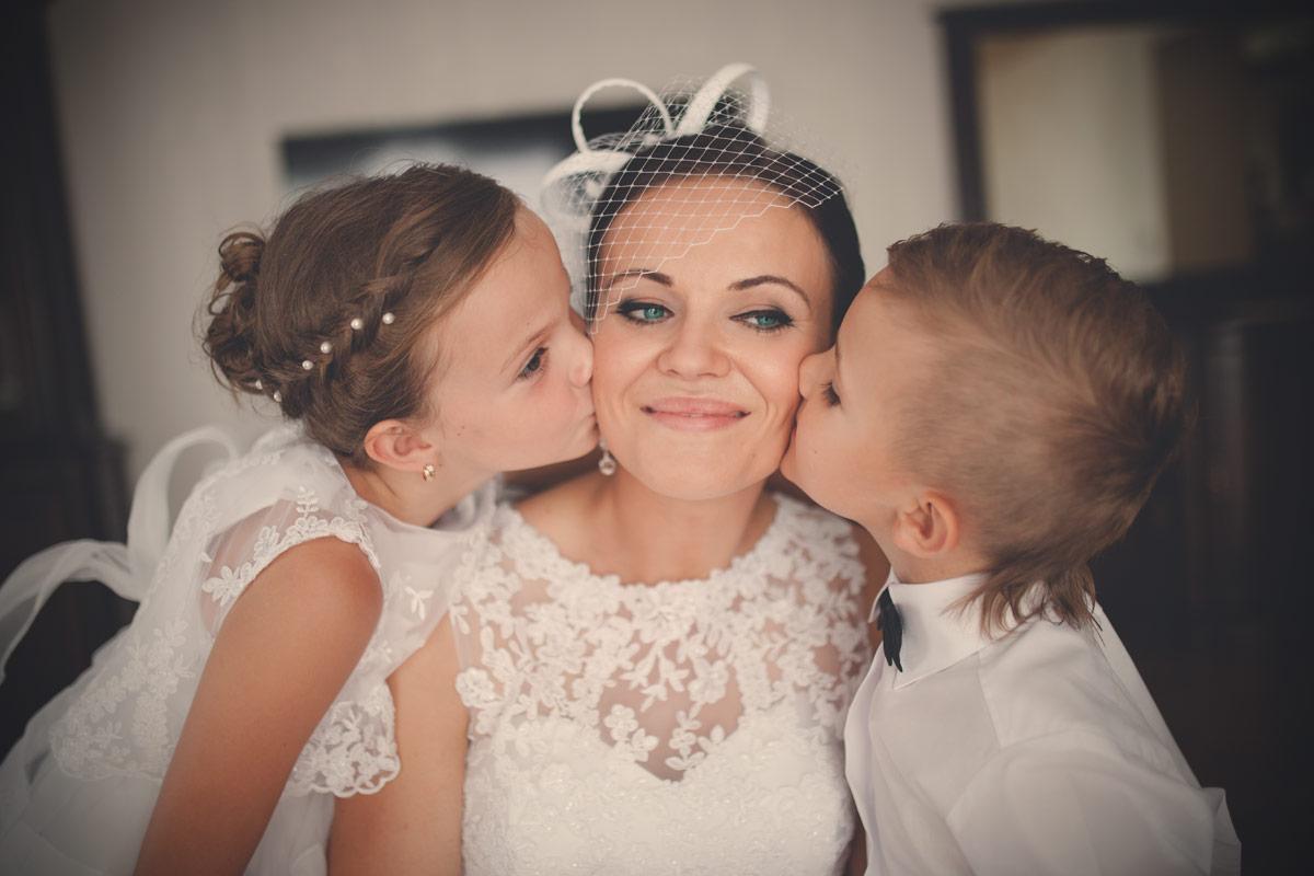 Wesele w Baranowskiej Chacie - przygotowania ślubne z dziećmi