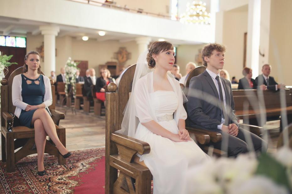 Fotografia ślubna Wieruszów - ślub w kościele