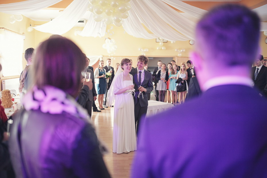 Fotografia ślubna Wieruszów - przyjęcie weselne