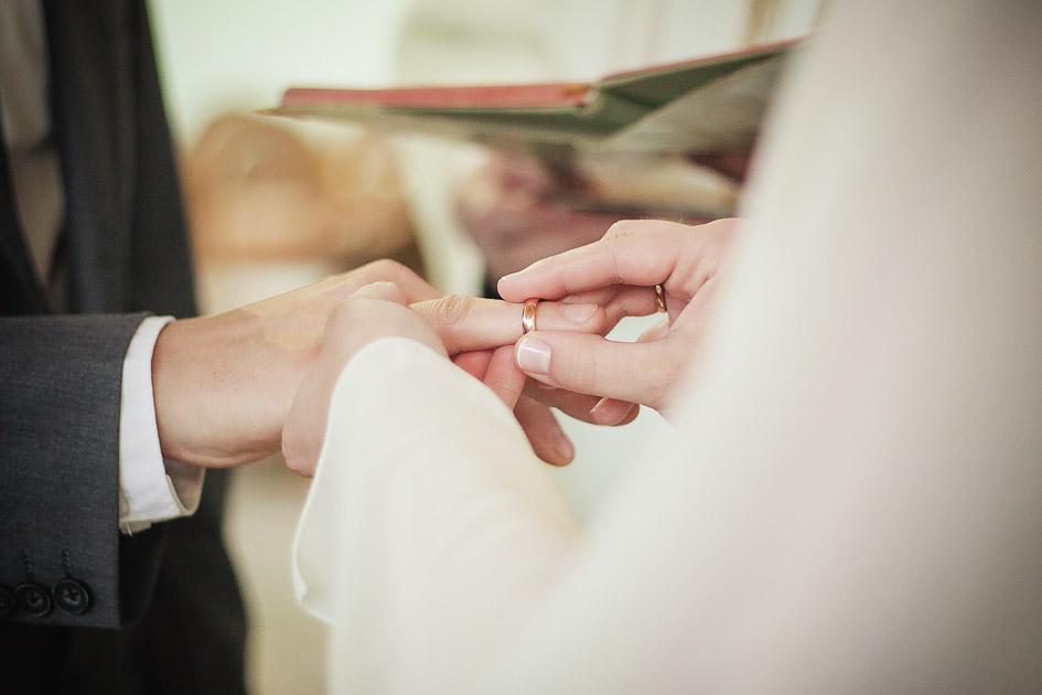 Fotografia ślubna Wieruszów - ceremonia zaślubin