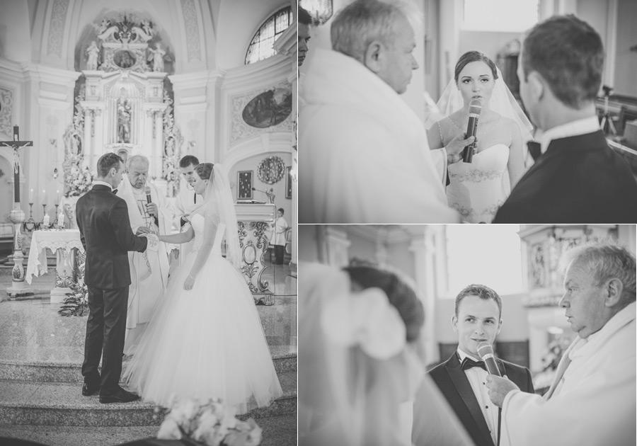 Fotografia ślubna Kępno - ceremonia w kościele