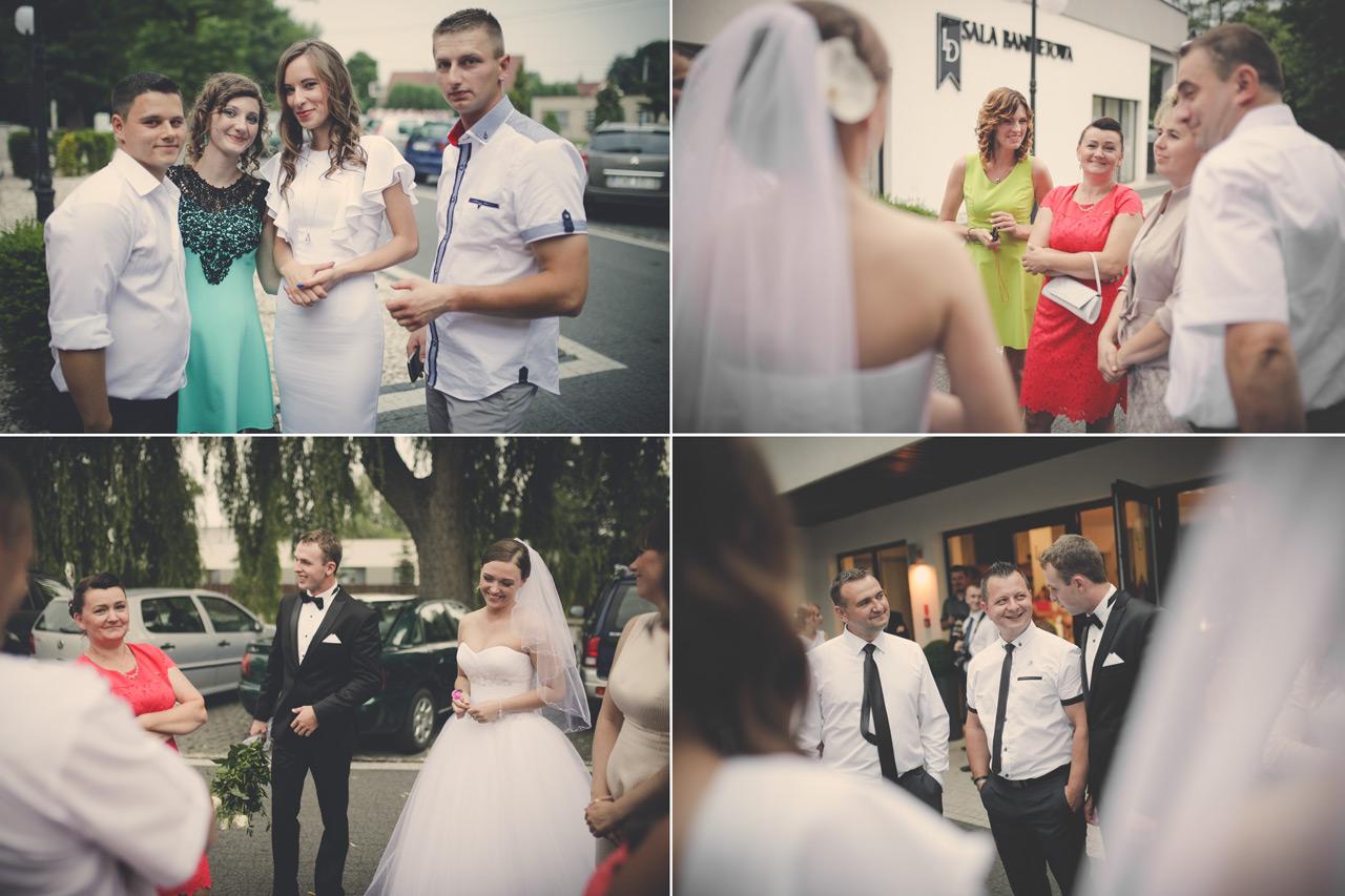 Fotografia ślubna Kępno - przyjęcie weselne