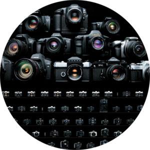 Fotograf ślubny - Canon gama aparatów fotograficznych