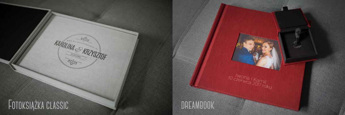 Fotoksiążka classic oraz dreambook