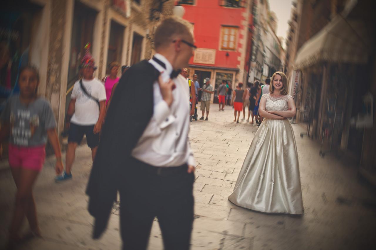 Plener ślubny w Chorwacji - Stare Miasto