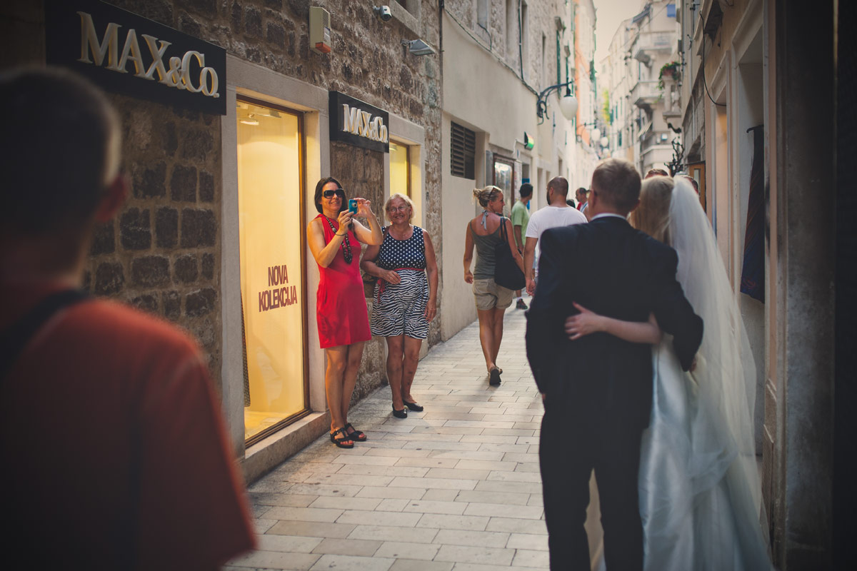 Plener ślubny w Chorwacji - zdjęcia turystów