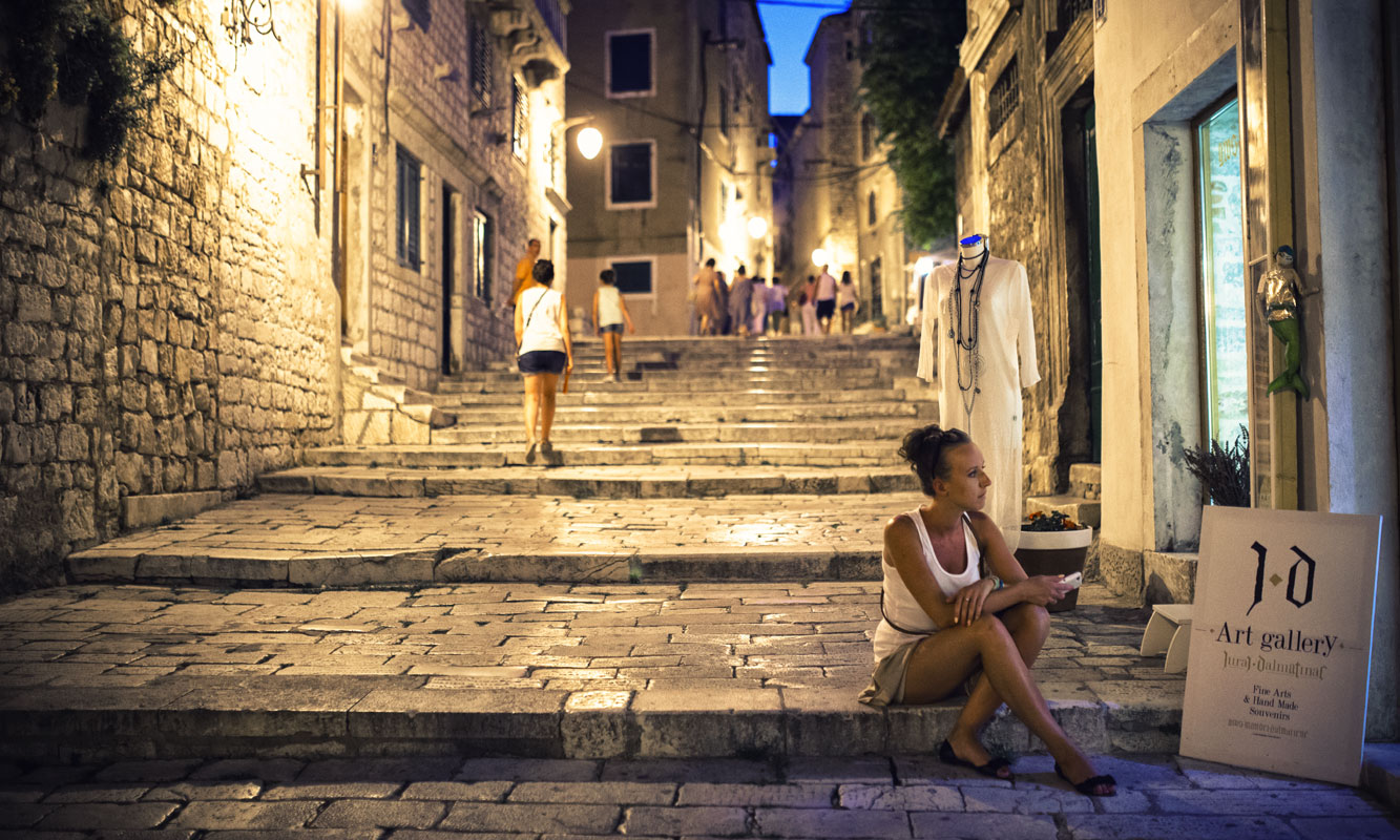 Stare Miasto w Szybeniku - schody