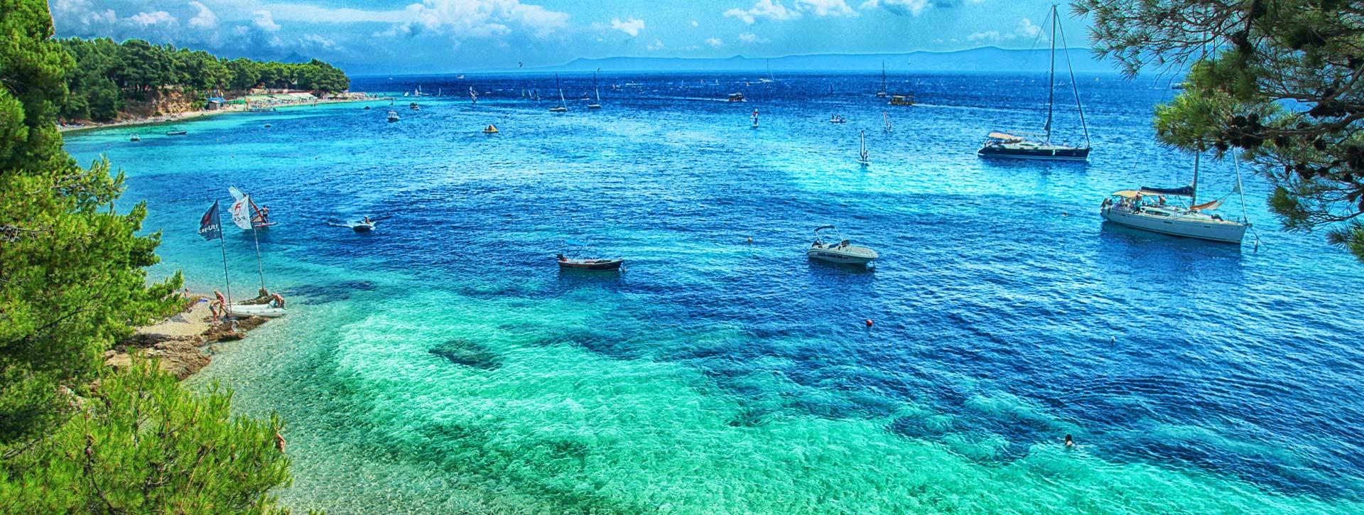 Wyspa BOL plaża
