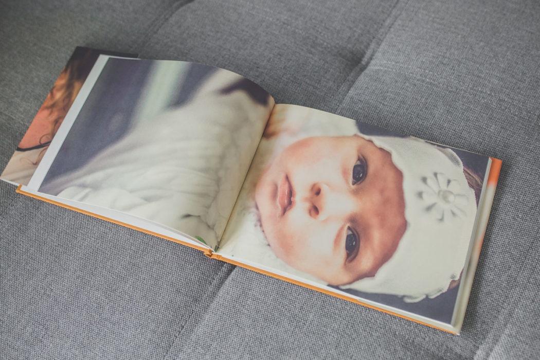 Fotoksiążka z chrztu świętego Antoniny - fotograf na chrzest