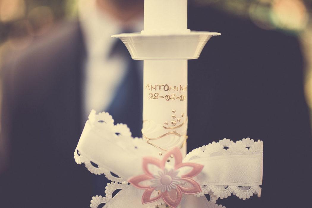 Zdjęcia z chrztu świętego świeca