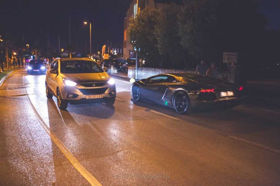 Wakacje w Chorwacji Lamborghini Aventador