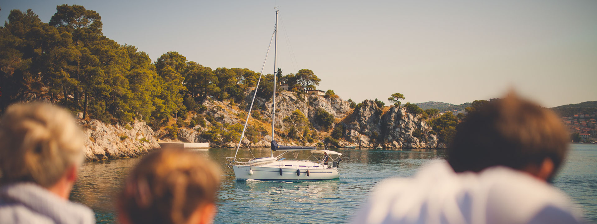 Wakacje w Chorwacji łódka