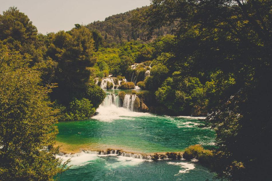 Wakacje w Chorwacji Park-Narodowy Krka Wodopad