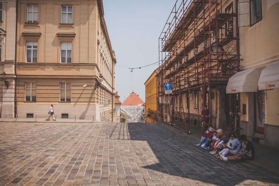 Wakacje w Chorwacji Zagrzeb plac Świętego Marka