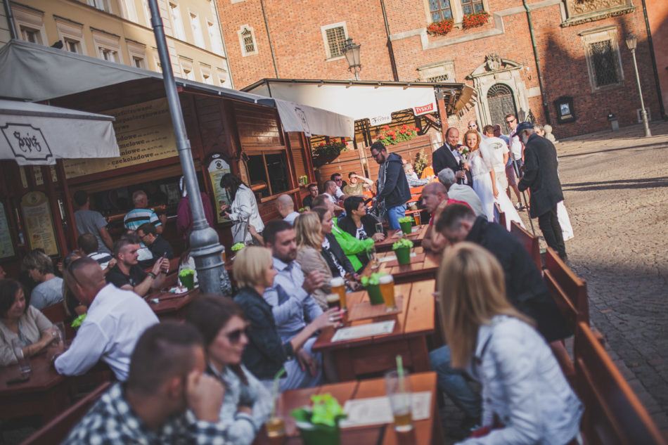 Plener ślubny we Wrocławiu rynek