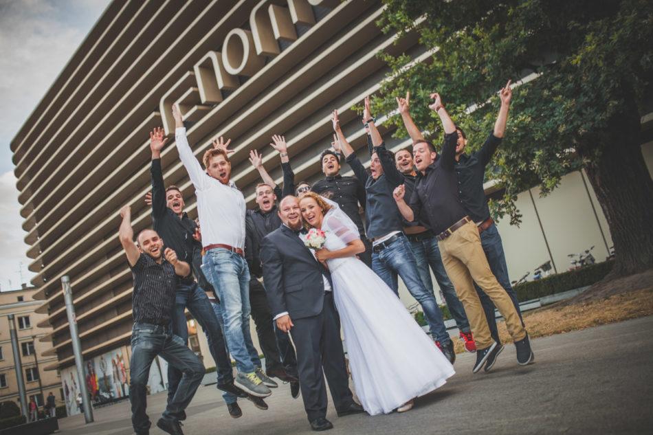 Plener ślubny we Wrocławiu przed Renomą