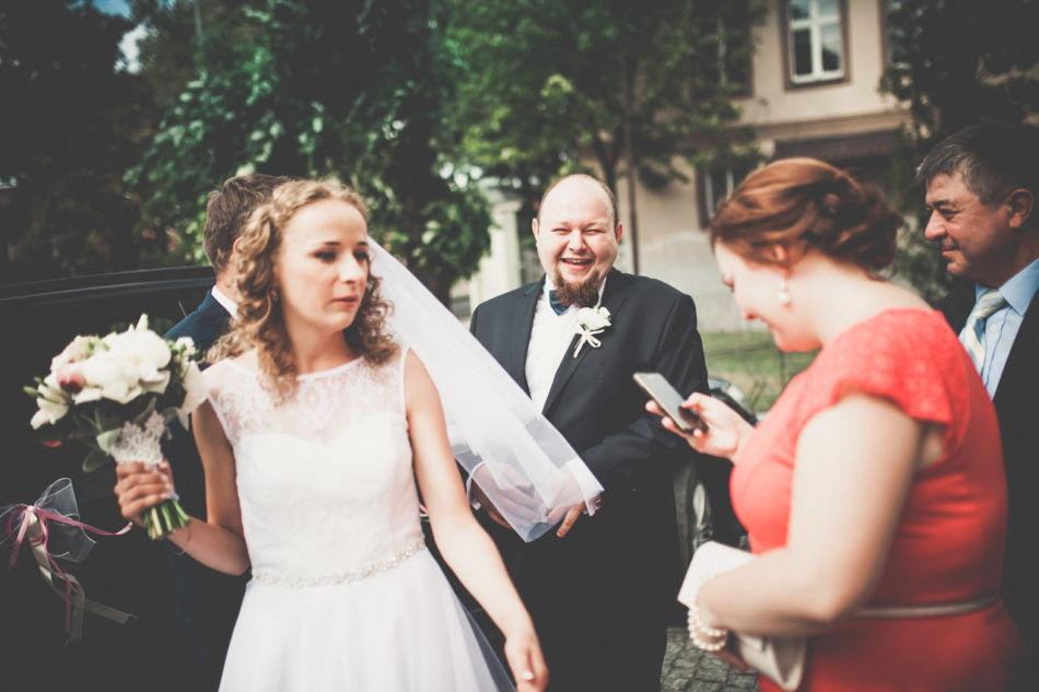 Fotograf Pleszew przejazd do kościoła