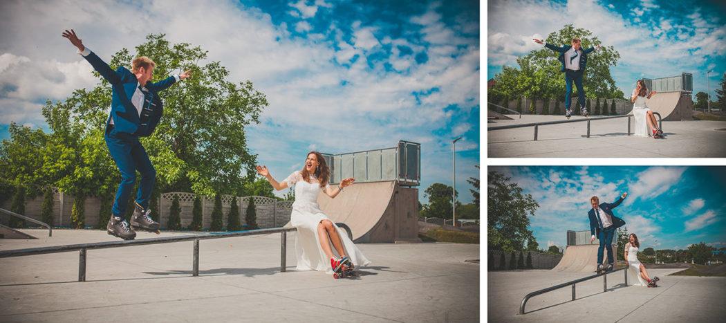 Plener w skateparku w Wieruszowie