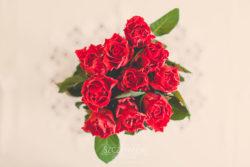 Detale ślubne bukiet kwiatów