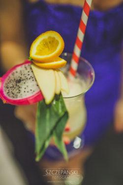 Detale ślubne koktajl alkoholowy