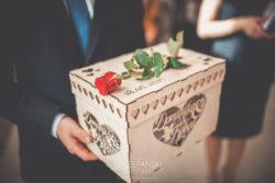Detale ślubne pudełko na prezenty koperty weselne