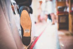 Detale ślubne naklejka pod buty Pana Młodego