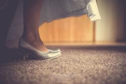 Detale ślubne buty Pani Młodej