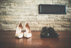 Detale ślubne buty Pary Młodej