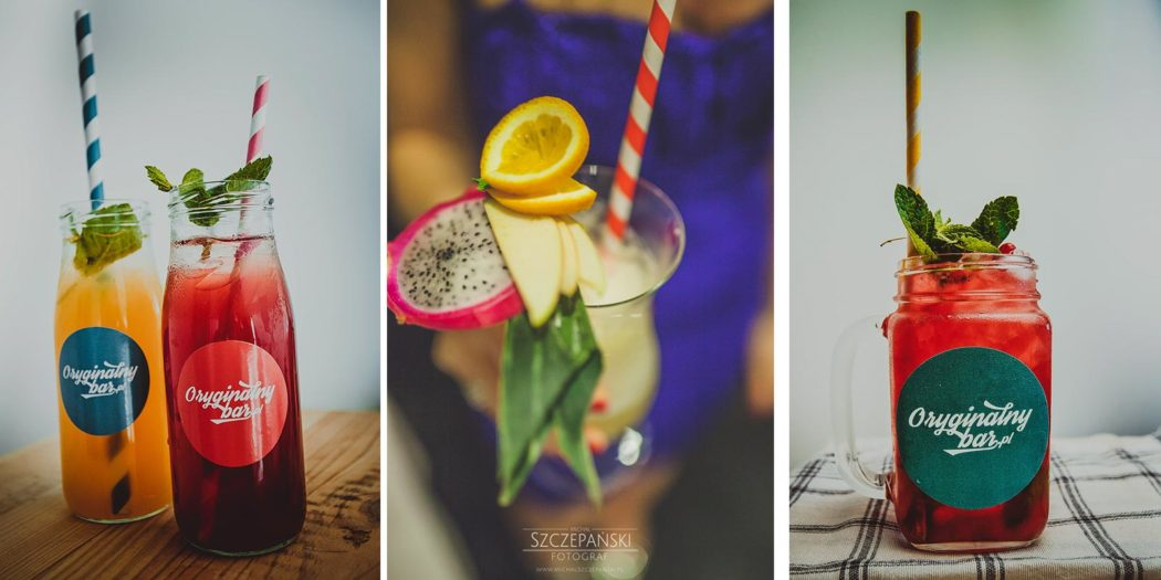 Weselny drink bar - koktajle