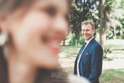 Plener ślubny w Pałacu w Ziemiełowicach