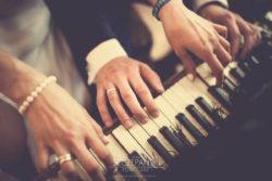 Plener ślubny w Pałacu w Ziemiełowicach pianino