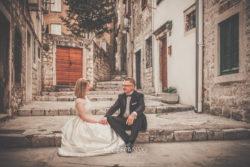 Plener ślubny w Chorwacji Szybenik starówka