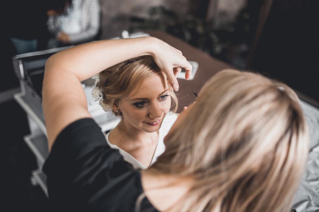 Make up ślubny w studio Estilo