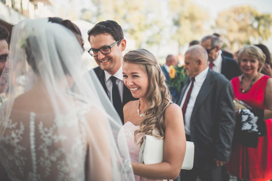 Życzenia ślubne przed Hotelem Navigator w Zbąszyniu