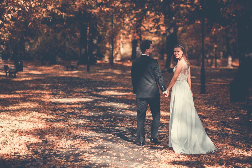 Plener ślubny w Parku Szczytnickim