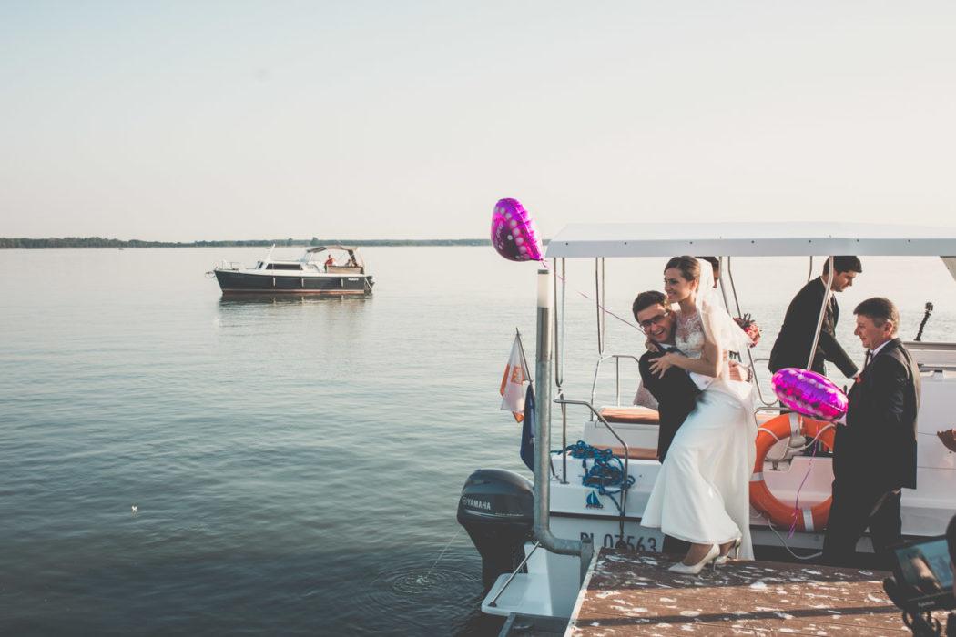 Jezioro Błędno Zbąszyn pomost