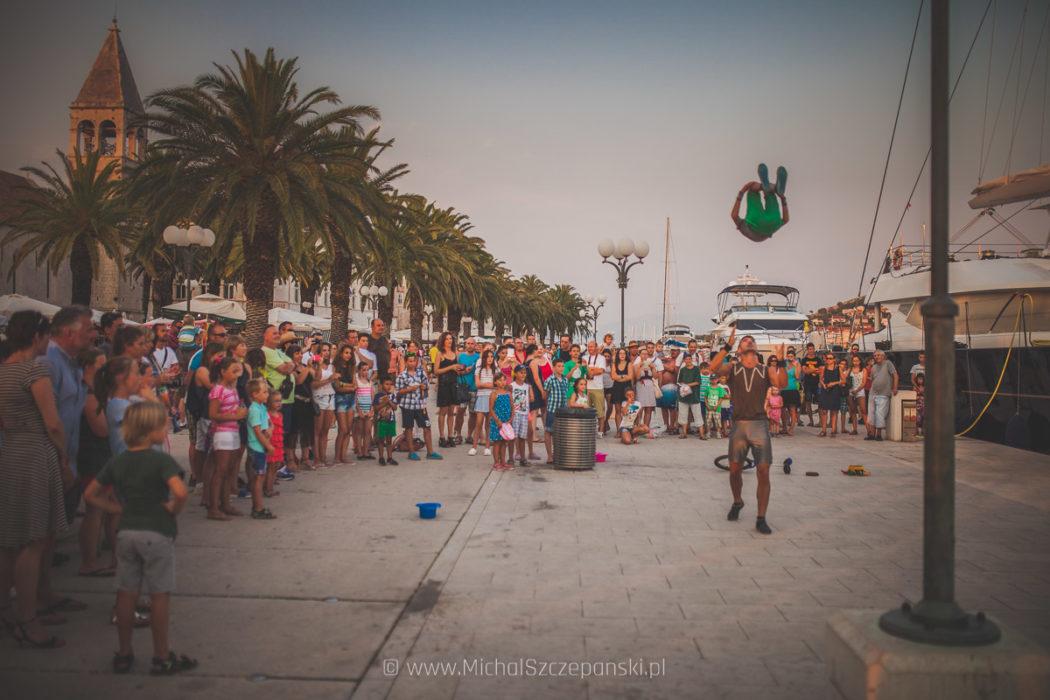 Wyjazd do Chorwacji Trogir - promenada