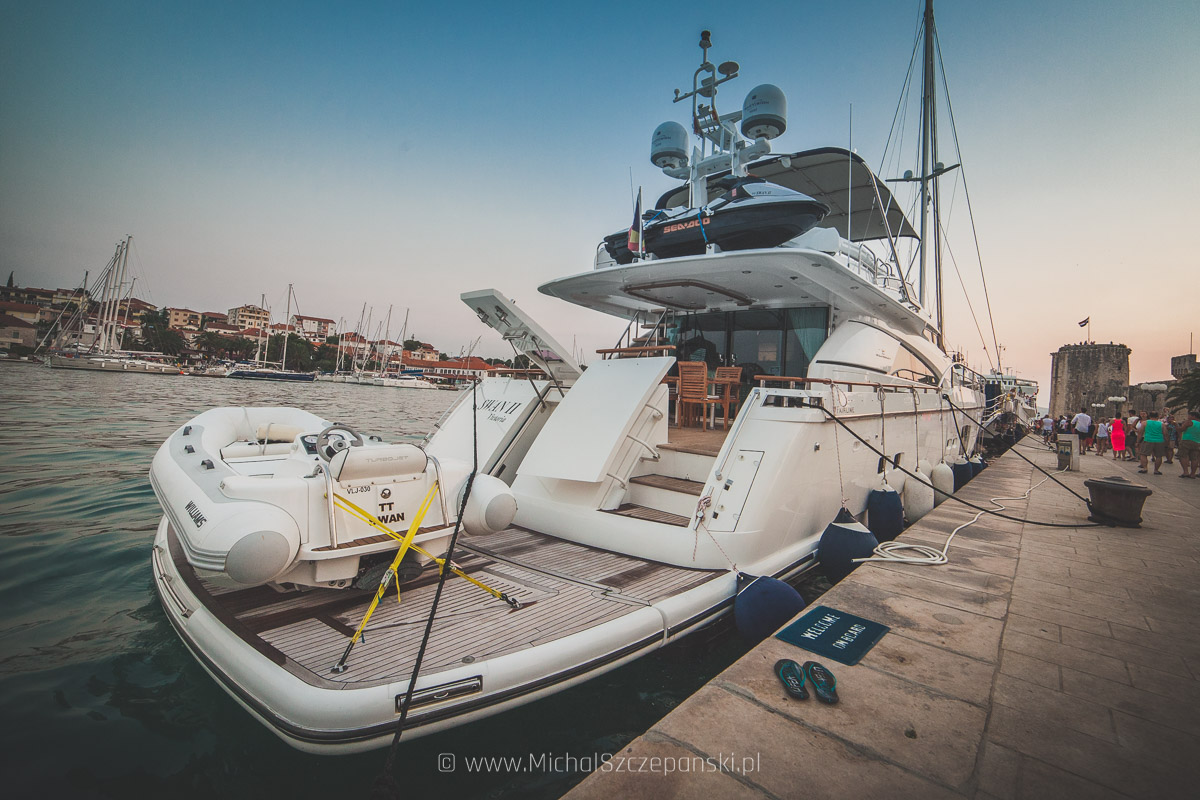 Trogir - jacht