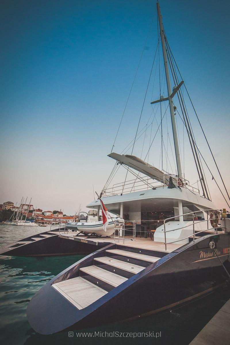Wyjazd do Chorwacji Trogir - jacht