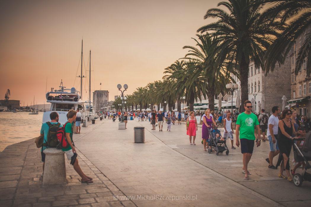 Trogir - promenada