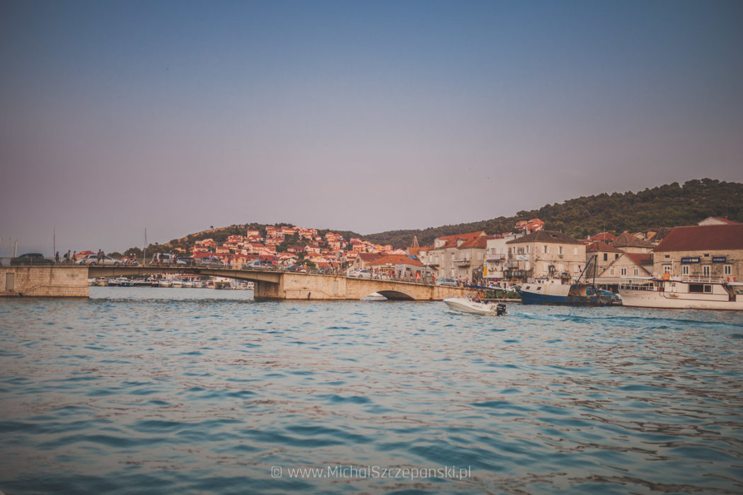 Trogir - widok na most