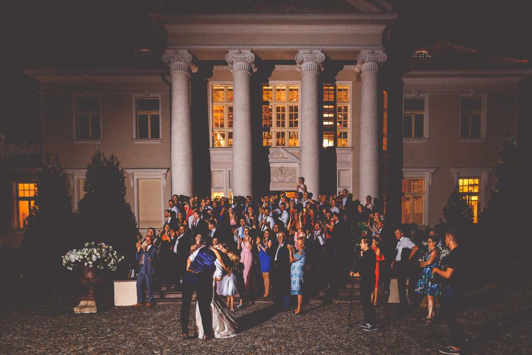 Pałac Tłokinia - fajerwerki
