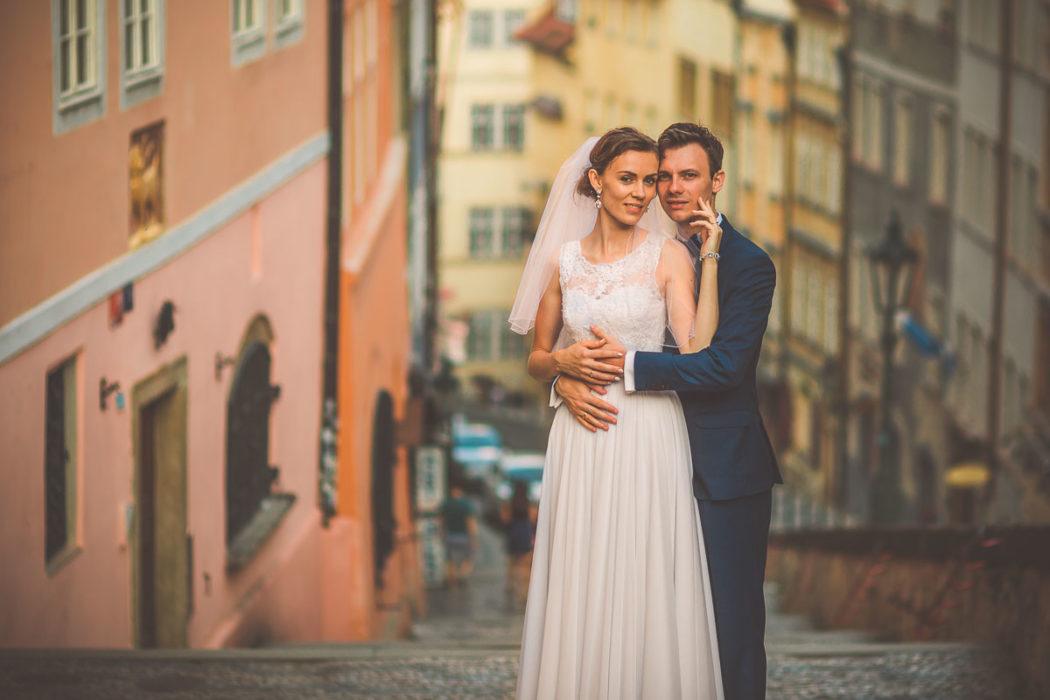 Plener ślubny w Pradze