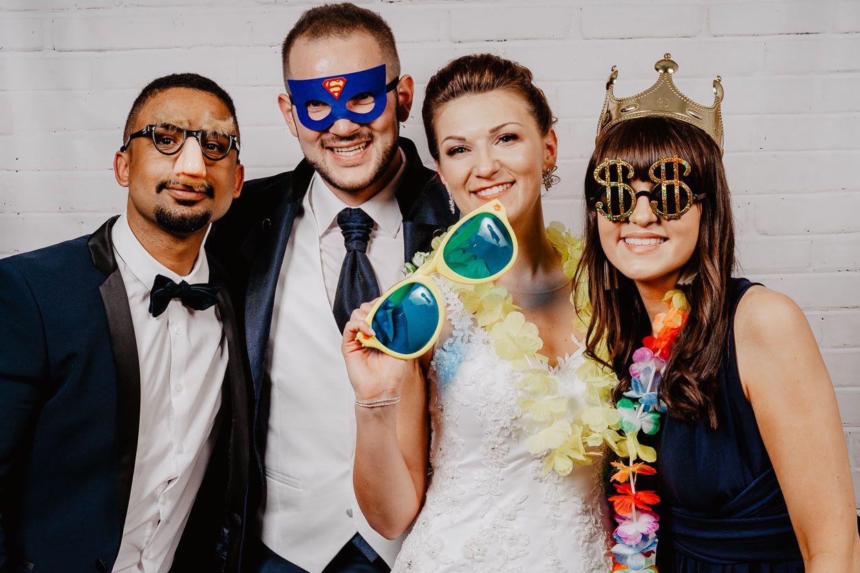 Fotościanka na weselu - zdjęcie gości