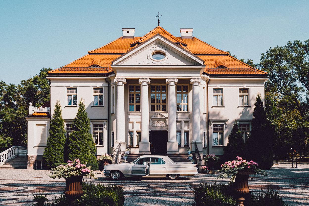 Pałac Tłokinia - Fotografia ślubna Kalisz
