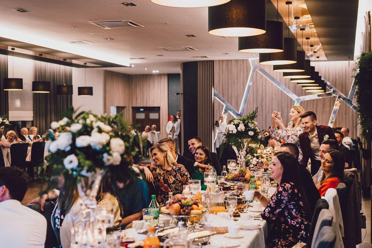Przyjęcie weselne w Łużyczance, Fotografia ślubna Kalisz
